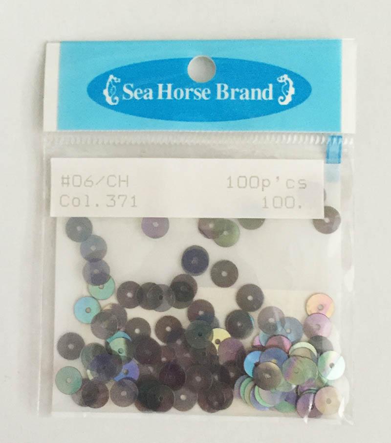 スパンコール Seahouse Brand  o6/CH  Col.371 100円